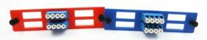 3D Printed Color Fiber Optic Adapter Comparison