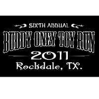 Buddy Oney Toy Run Logo
