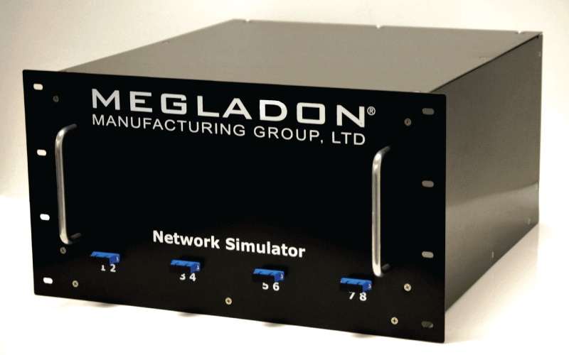 Photo of Megladon Fiber Optic Network Simulator
