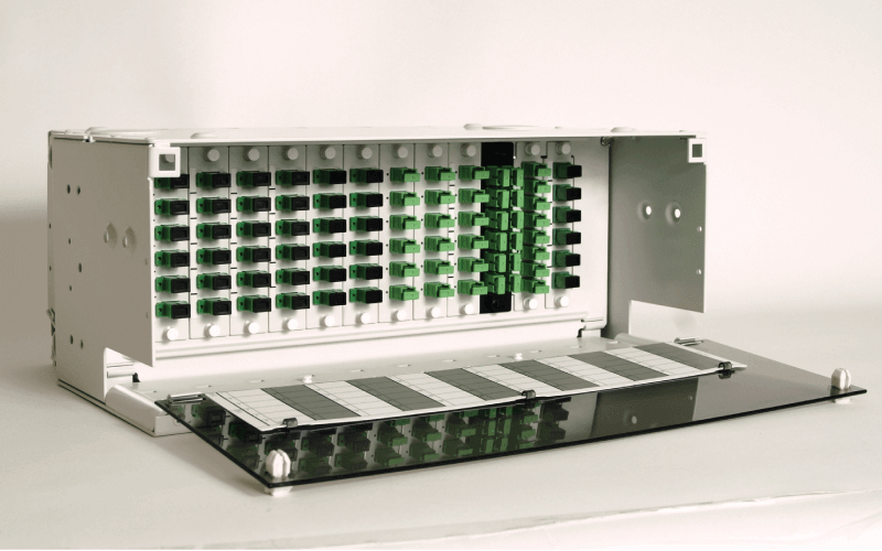 Product photo of 4U Rackmount Fiber Distribution Panel