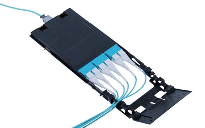 High-Density MPO Fiber Distribution Cassettes