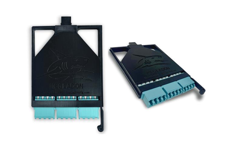 3D Printed MTP Fiber Distribution Cassettes