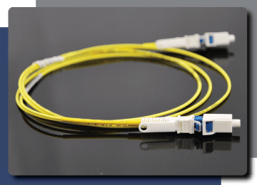 Photo of Fiber Optic Cable Assembly with HLC® Technology