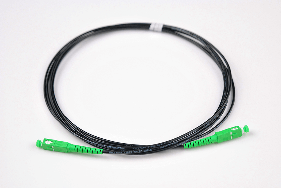 Indoor Outdoor Rated Fiber Cables & Pigtails